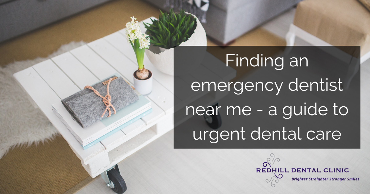 How to find an emergency dentist near me