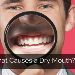What causes a dry mouth